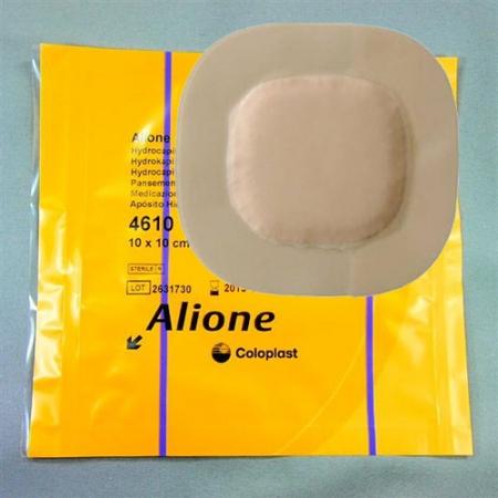 Biatain Super (Alione) Hydrocapillary Adhesive Dressing 10cm x 10cm