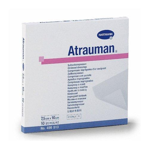 Atrauman tulle dressing 5cm x 5cm pack of 10 ahns - Dressing cm ...