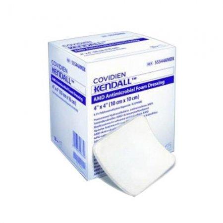 AMD Antimicrobial Foam Dressing 5cm x 5cm