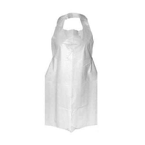 Apron Plastic Neck To Knee 71cm X 135cm Pack Of 10 Ahns