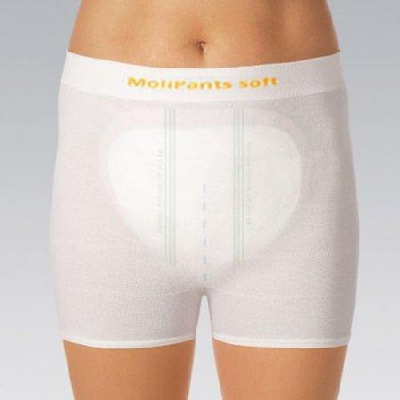 Molipants Soft Large Pad Fixation Stretch Pants Pack of 10