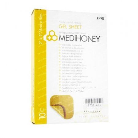 MediHoney Antibacterial Gel Sheet