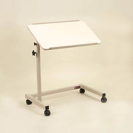 Over Bed Table Tilt Top U-Shaped Base