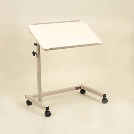 Over Bed Table Tilt Top U-Shaped Base
