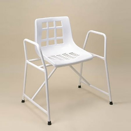 Shower Chair Extra Overwide with Armrests Fixed Height