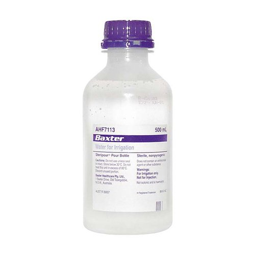 Sterile Water Bottles Water For Irrigation Sterile