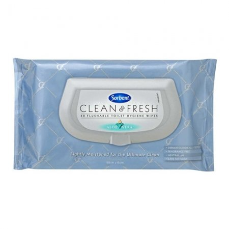 Wet Wipes Sorbent Flushable