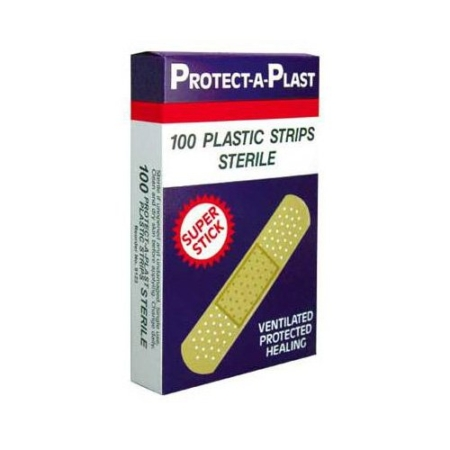 Bandaid Dressing Plastic Strips