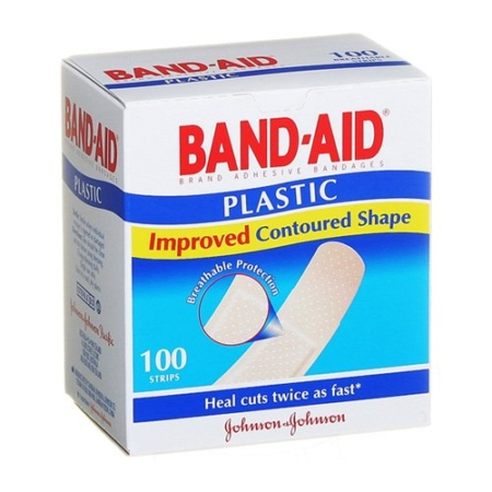 Bandaid Plastic Strips